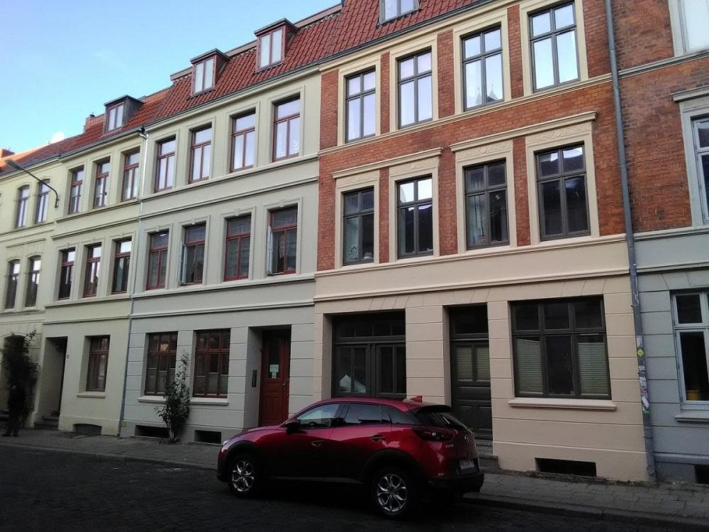 Foto Fassadenanstrich Wismar