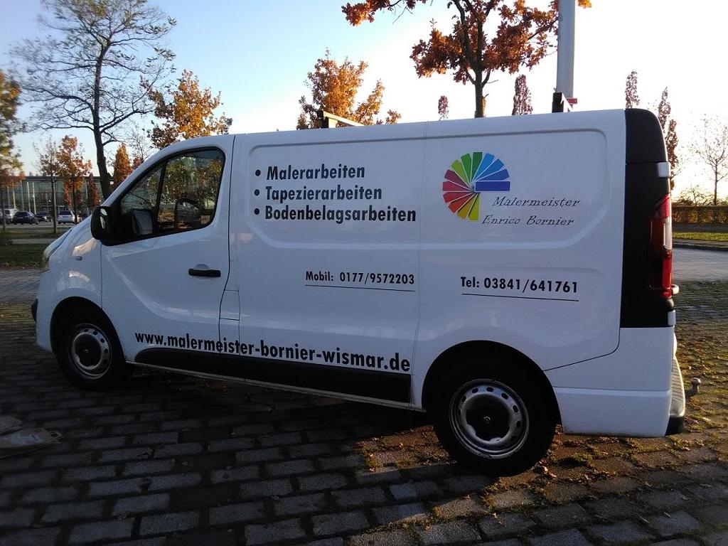 Foto Fahrzeug Malermeister Bornier Wismar